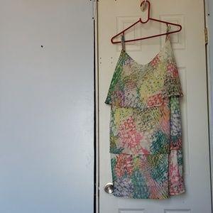 Lane Bryant 3 Tiered Ruffle blouse